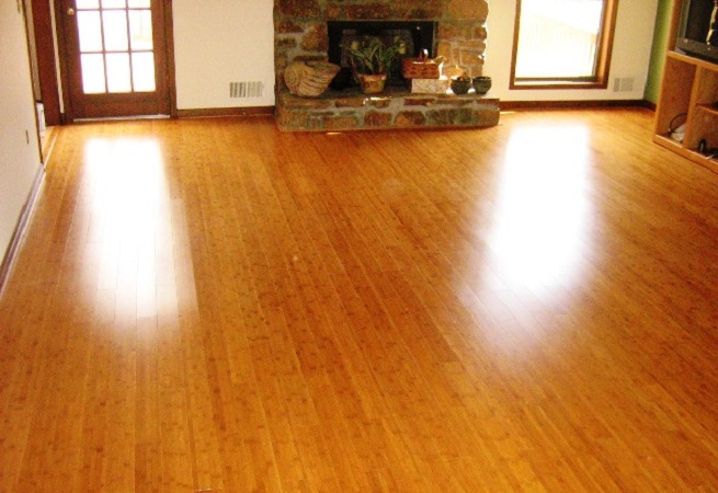 Residential Vinyl Floor Restoration